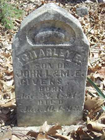 GIVENS, CHARLEY E. - Benton County, Arkansas   CHARLEY E. GIVENS - Arkansas Gravestone Photos