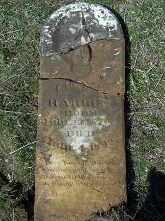 HARRIS, LUCY A. - Benton County, Arkansas | LUCY A. HARRIS - Arkansas Gravestone Photos