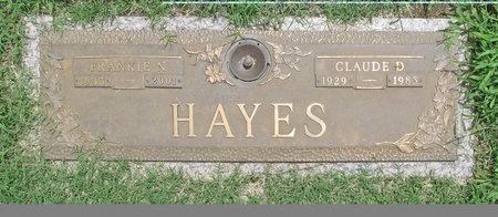 HAYES, CLAUDE D - Benton County, Arkansas | CLAUDE D HAYES - Arkansas Gravestone Photos