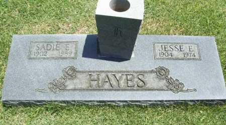 HAYES, JESSE E. - Benton County, Arkansas | JESSE E. HAYES - Arkansas Gravestone Photos