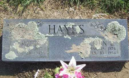 HAYES, MAUD - Benton County, Arkansas   MAUD HAYES - Arkansas Gravestone Photos