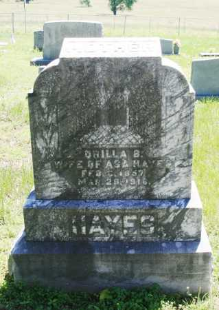 HAYES, ORILLA B. - Benton County, Arkansas | ORILLA B. HAYES - Arkansas Gravestone Photos