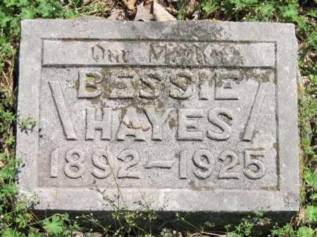 HAYES, BESSIE - Benton County, Arkansas | BESSIE HAYES - Arkansas Gravestone Photos