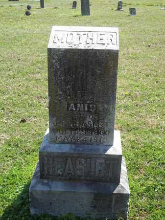 HEASLET, ANIS - Benton County, Arkansas   ANIS HEASLET - Arkansas Gravestone Photos
