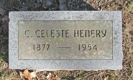 HENERY, C CELESTE - Benton County, Arkansas   C CELESTE HENERY - Arkansas Gravestone Photos