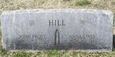 LINER HILL, ANNA - Benton County, Arkansas | ANNA LINER HILL - Arkansas Gravestone Photos