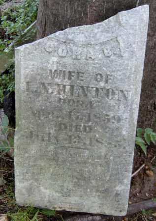 HINTON, CORA B - Benton County, Arkansas   CORA B HINTON - Arkansas Gravestone Photos