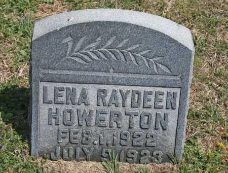 HOWERTON, LENA RAYDEEN - Benton County, Arkansas | LENA RAYDEEN HOWERTON - Arkansas Gravestone Photos