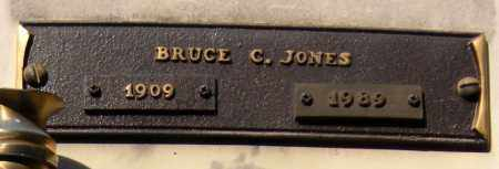 JONES, BRUCE C. - Benton County, Arkansas | BRUCE C. JONES - Arkansas Gravestone Photos