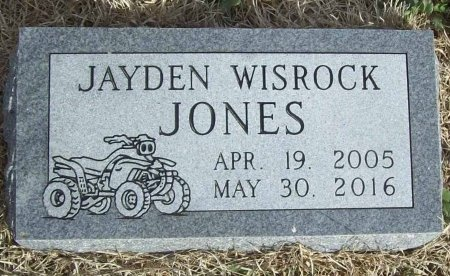 JONES, JAYDEN WISROCK - Benton County, Arkansas | JAYDEN WISROCK JONES - Arkansas Gravestone Photos