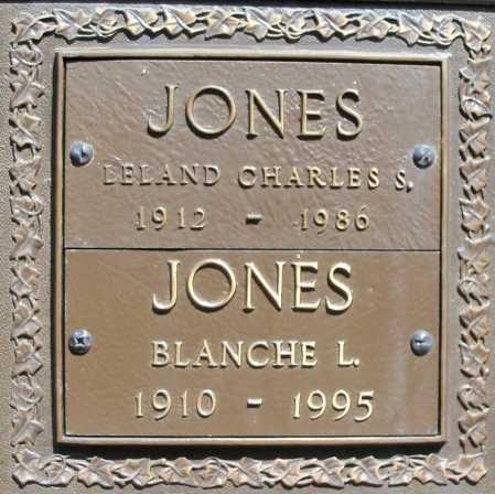 JONES, LELAND CHARLES S. - Benton County, Arkansas | LELAND CHARLES S. JONES - Arkansas Gravestone Photos