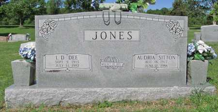 JONES, AUDRIA - Benton County, Arkansas | AUDRIA JONES - Arkansas Gravestone Photos