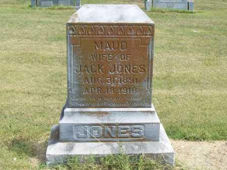 JONES, MAUD - Benton County, Arkansas | MAUD JONES - Arkansas Gravestone Photos