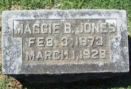 JONES, MAGGIE B. - Benton County, Arkansas   MAGGIE B. JONES - Arkansas Gravestone Photos