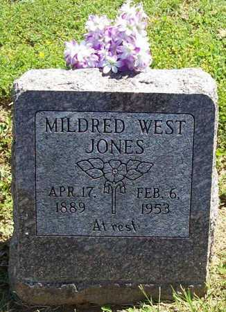 JONES, MILDRED - Benton County, Arkansas   MILDRED JONES - Arkansas Gravestone Photos