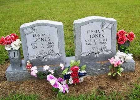 JONES, FLEETA M. - Benton County, Arkansas | FLEETA M. JONES - Arkansas Gravestone Photos