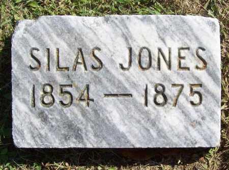 JONES, SILAS - Benton County, Arkansas | SILAS JONES - Arkansas Gravestone Photos