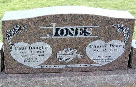 JONES, SR., PAUL DOUGLAS - Benton County, Arkansas | PAUL DOUGLAS JONES, SR. - Arkansas Gravestone Photos