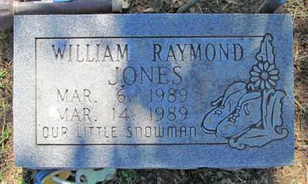 JONES, WILLIAM RAYMOND - Benton County, Arkansas | WILLIAM RAYMOND JONES - Arkansas Gravestone Photos