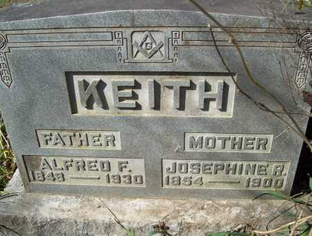 KEITH, JOSEPHINE R. - Benton County, Arkansas | JOSEPHINE R. KEITH - Arkansas Gravestone Photos