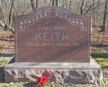 KEITH, JAMES HENRY - Benton County, Arkansas | JAMES HENRY KEITH - Arkansas Gravestone Photos