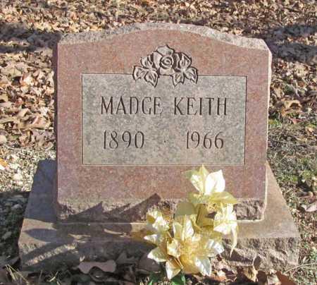 KEITH, MADGE - Benton County, Arkansas | MADGE KEITH - Arkansas Gravestone Photos