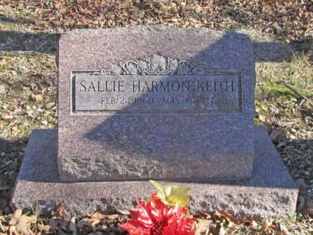 HARMON KEITH, SALLIE - Benton County, Arkansas | SALLIE HARMON KEITH - Arkansas Gravestone Photos