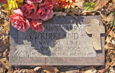 KIRKLAND, JAMES LARRY - Benton County, Arkansas | JAMES LARRY KIRKLAND - Arkansas Gravestone Photos