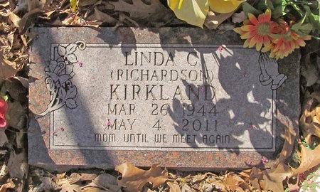 RICHARDSON KIRKLAND, LINDA CLEO - Benton County, Arkansas   LINDA CLEO RICHARDSON KIRKLAND - Arkansas Gravestone Photos