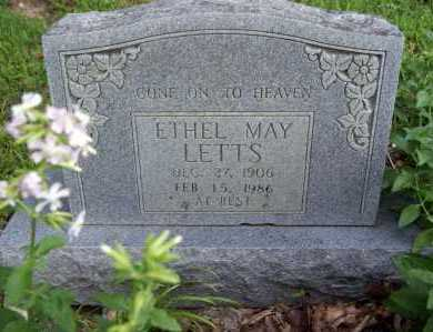 LETTS, ETHEL MAY - Benton County, Arkansas | ETHEL MAY LETTS - Arkansas Gravestone Photos
