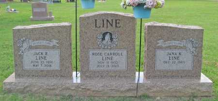 LINE, ROSE CARROLL - Benton County, Arkansas | ROSE CARROLL LINE - Arkansas Gravestone Photos