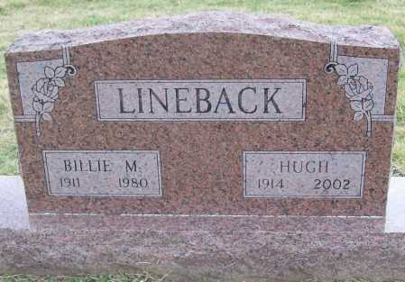LINEBACK (VETERAN WWII), HUGH - Benton County, Arkansas | HUGH LINEBACK (VETERAN WWII) - Arkansas Gravestone Photos