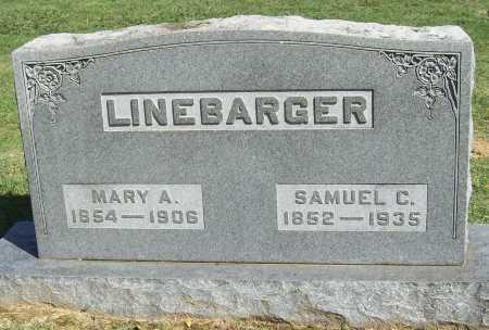 LINEBARGER, MARY A. - Benton County, Arkansas   MARY A. LINEBARGER - Arkansas Gravestone Photos