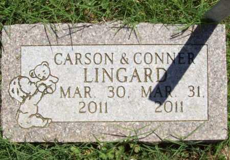 LINGARD, CONNER - Benton County, Arkansas | CONNER LINGARD - Arkansas Gravestone Photos