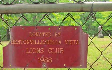 *LIONS CLUB DONATION,  - Benton County, Arkansas |  *LIONS CLUB DONATION - Arkansas Gravestone Photos