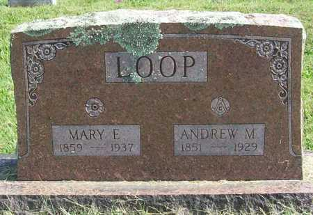 LOOP, MARY E - Benton County, Arkansas | MARY E LOOP - Arkansas Gravestone Photos