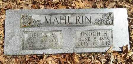 MAHURIN, DELLA MAY - Benton County, Arkansas   DELLA MAY MAHURIN - Arkansas Gravestone Photos