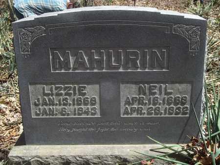 MAHURIN, NEIL - Benton County, Arkansas | NEIL MAHURIN - Arkansas Gravestone Photos
