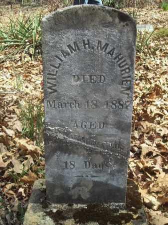 MAHURIN, WILLIAM HENDERSON - Benton County, Arkansas | WILLIAM HENDERSON MAHURIN - Arkansas Gravestone Photos