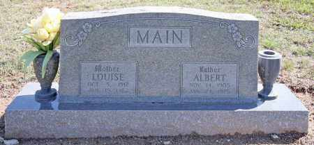 MAIN, ALBERT L. - Benton County, Arkansas | ALBERT L. MAIN - Arkansas Gravestone Photos