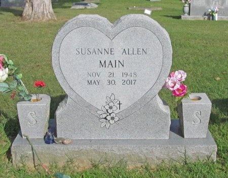 MAIN, SUSANNE - Benton County, Arkansas | SUSANNE MAIN - Arkansas Gravestone Photos