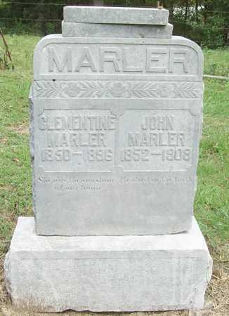 MARLER, JOHN - Benton County, Arkansas | JOHN MARLER - Arkansas Gravestone Photos