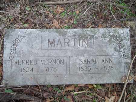 MARTIN, SARAH ANN - Benton County, Arkansas | SARAH ANN MARTIN - Arkansas Gravestone Photos