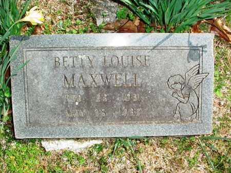 MAXWELL, BETTY LOUISE - Benton County, Arkansas | BETTY LOUISE MAXWELL - Arkansas Gravestone Photos
