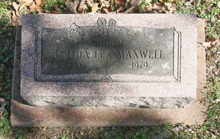 MAXWELL, BERTHA LEA - Benton County, Arkansas | BERTHA LEA MAXWELL - Arkansas Gravestone Photos