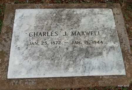 MAXWELL, CHARLES J. - Benton County, Arkansas | CHARLES J. MAXWELL - Arkansas Gravestone Photos
