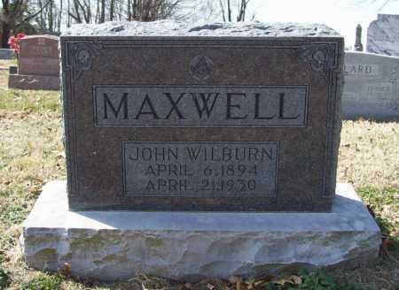 MAXWELL, JOHN WILBURN - Benton County, Arkansas | JOHN WILBURN MAXWELL - Arkansas Gravestone Photos
