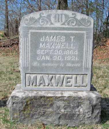 MAXWELL, JAMES THOMAS - Benton County, Arkansas | JAMES THOMAS MAXWELL - Arkansas Gravestone Photos