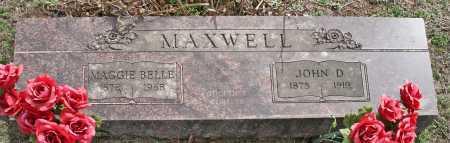 MAXWELL, MAGGIE BELLE - Benton County, Arkansas | MAGGIE BELLE MAXWELL - Arkansas Gravestone Photos
