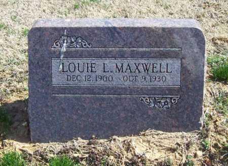 MAXWELL, LOUIE LEE - Benton County, Arkansas | LOUIE LEE MAXWELL - Arkansas Gravestone Photos
